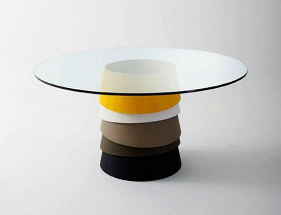Layer table by Luca Nichetto for Gallotti&Radice