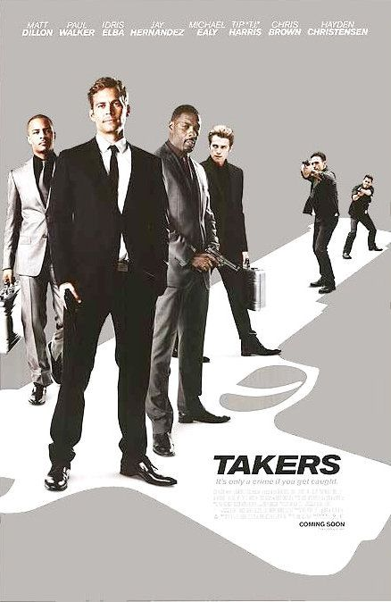 One of the movies that Paul said he really liked and was glad to have done.Takers - Paul Walker movie