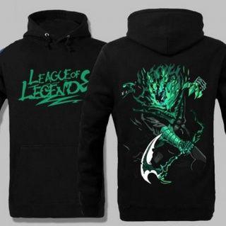 Thresh League of Legends mens hoodies 3XL plus size hoodies