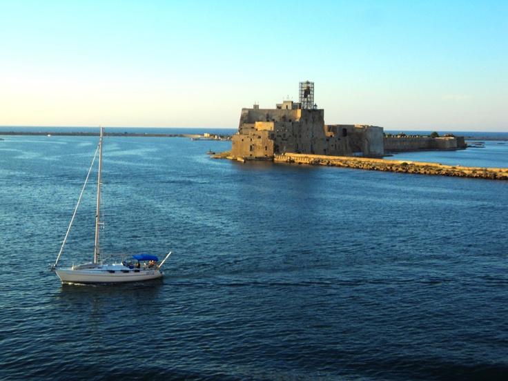 Alfonsino Aragonese Castle, #Brindisi #puglia #Italy
