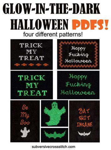 pdf set of four halloween