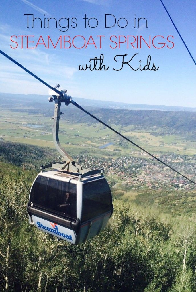 Head to Steamboat Springs, CO when the weather is warm. Here are 10 of my favorite things to do in Steamboat with kids.