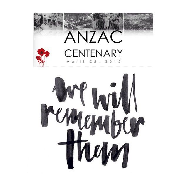 Lest We Forget ❤️#anzacday #wewillrememberthem #lestweforget #100yrs