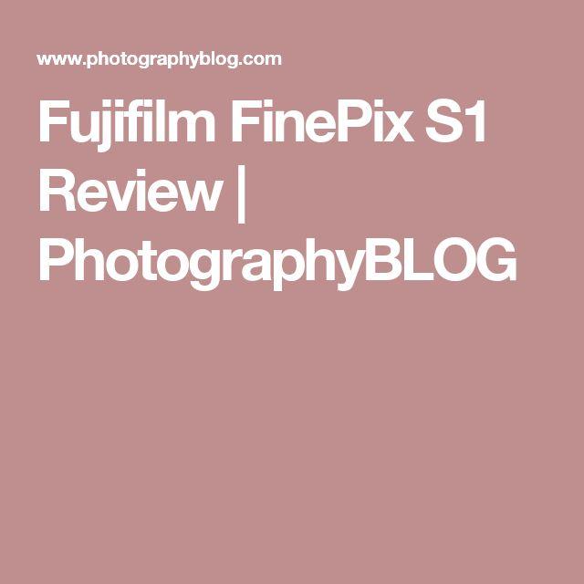 Fujifilm FinePix S1 Review | PhotographyBLOG