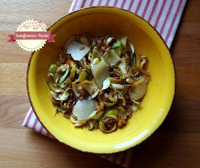 Batuffolando Ricette Insalata di carciofi crudi con semi misti, parmigiano e noci