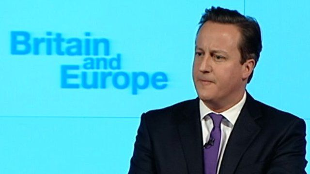 BBC News - David Cameron promises in/out referendum on EU