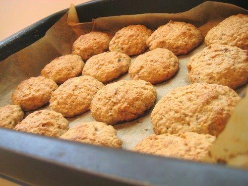 Овсяное печенье с яблоками  / Простые рецепты