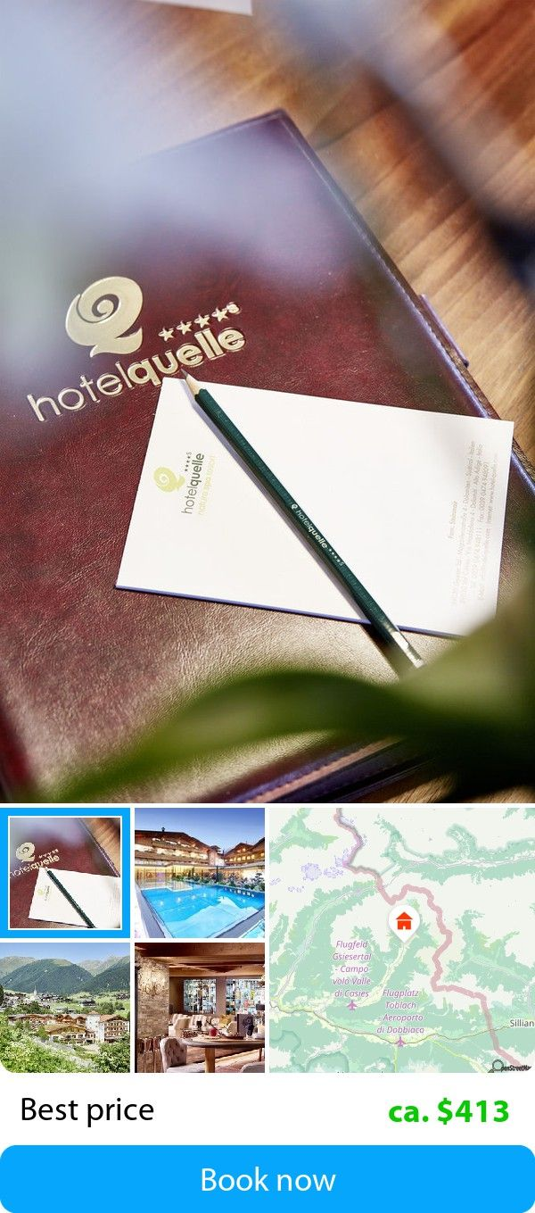 Hotel Quelle Nature Spa Resort (St. Magdalena, Italy) – Book this hotel at the cheapest price on sefibo.