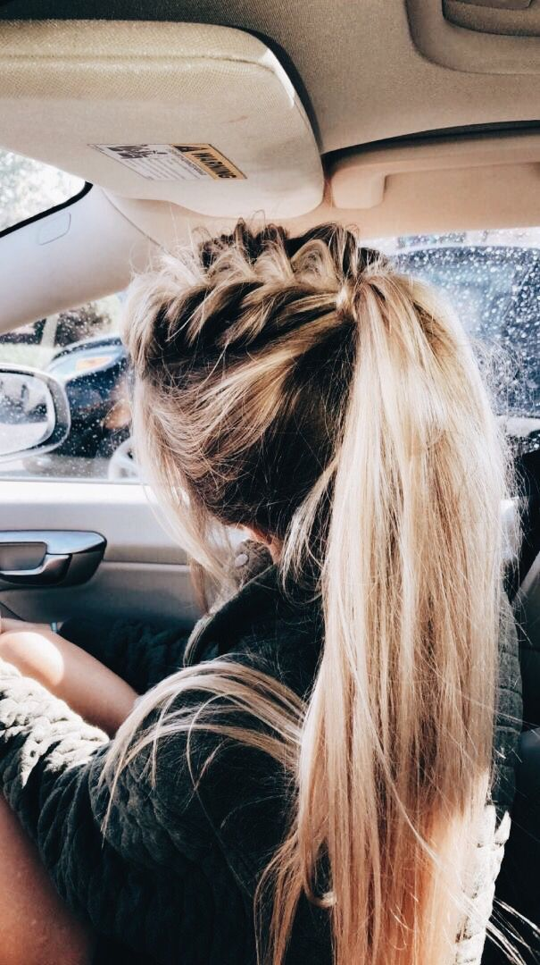 lazy hairstyles with BB Hair Extensions