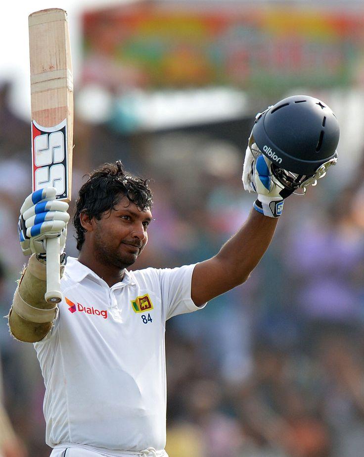 Great Boy .....Kumar Sangakkara scored his 10th double-century