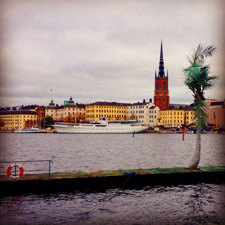 Vy från Södermälar strand, Stockholm