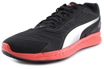 Puma Ignite V2 Men Round Toe Synthetic Black Running Shoe.