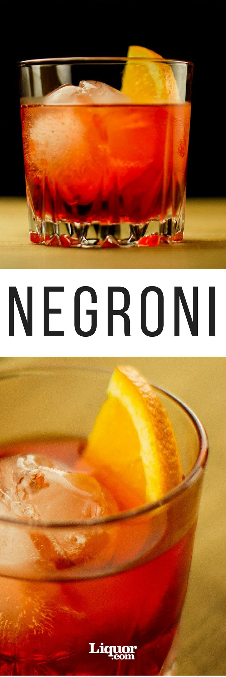 The Negroni recipe: Campari, Gin, & Sweet Vermouth. Just mix together to make the perfect red-hued drink, the Negroni. This three-ingredient Italian cocktail is as classic as a drink can get.