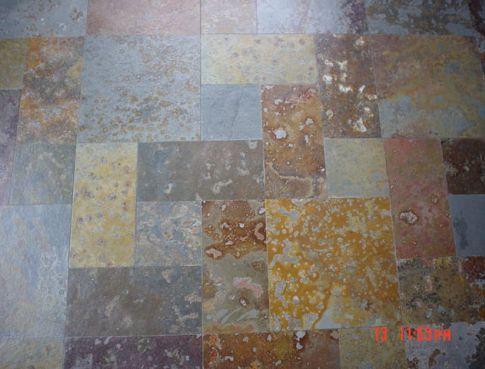 Resultado de imagen para piedra pizarra en piso