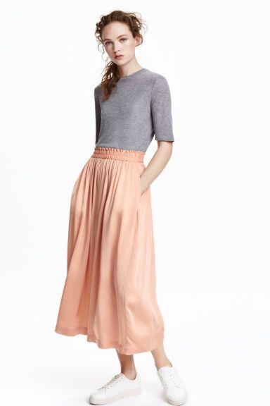 Satin culottes | H&M