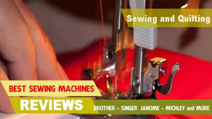 Top 5 Best Sewing Machines
