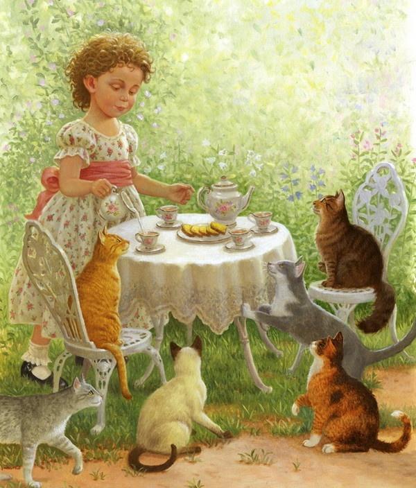 Kitten tea