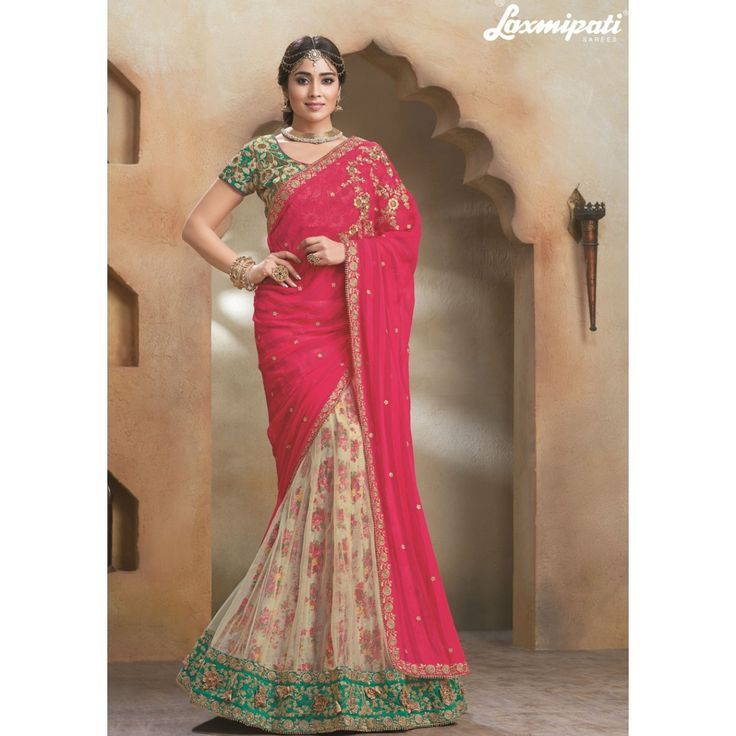 Wedding White Sarees Online: Buy Laxmipati Wedding Sarees, Laxmipati Sarees New Catalog
