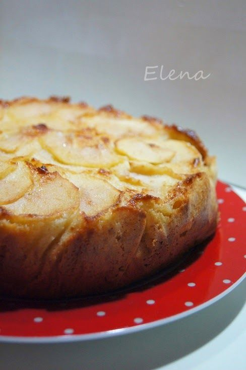 pastel  manzana de normandia