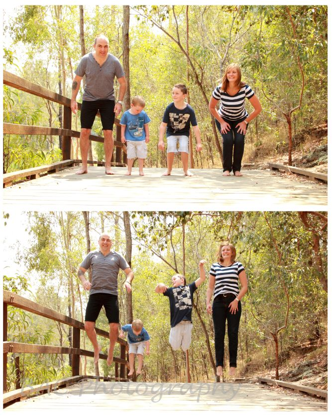1, 2, 3 JUMP! - Brisbane Outdoor Lifestyle Family Photography