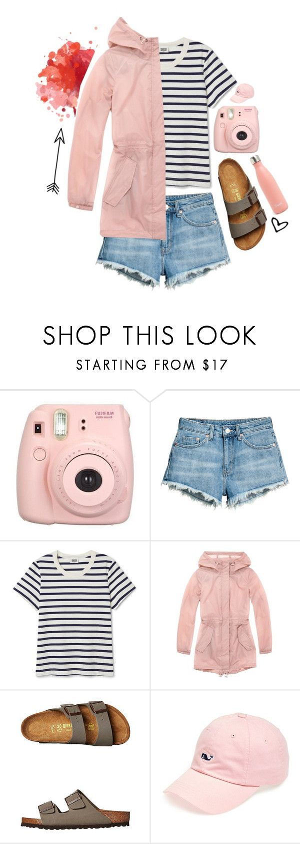 """""""Going Camping!"""" by pinkrasberry ❤ liked on Polyvore featuring Fujifilm, Andrew Marc, Birkenstock and Vineyard Vines"""