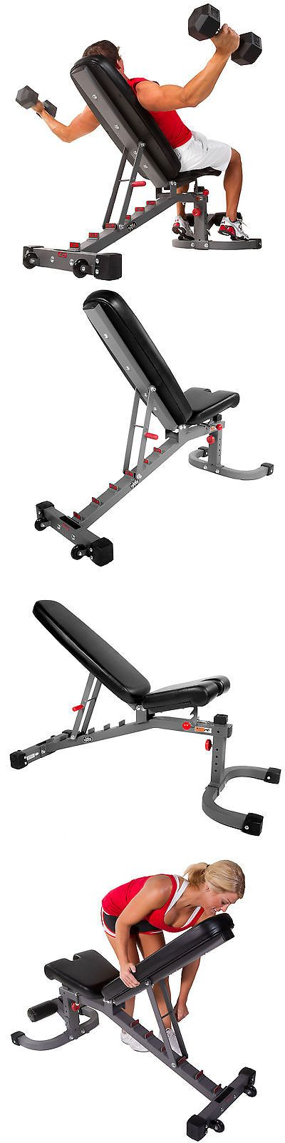 Benches 15281: Xmark Fitness 11-Gauge (Fid) Flat Incline Decline Bench (Xm-7472) -> BUY IT NOW ONLY: $293 on eBay!