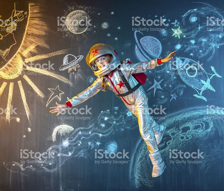 Floating free in space royalty-free stock photo