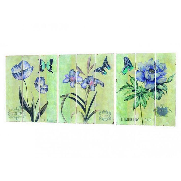 Tablou cu flori 30 x 25 cm