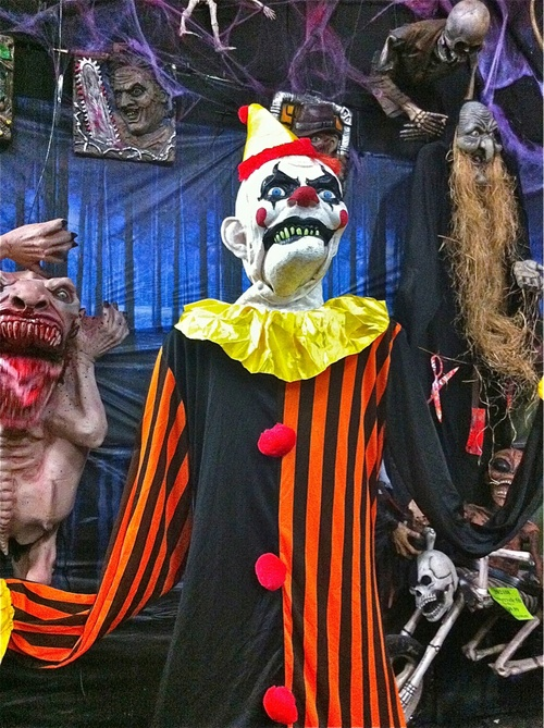 Psychopathic clown after his lobotomy