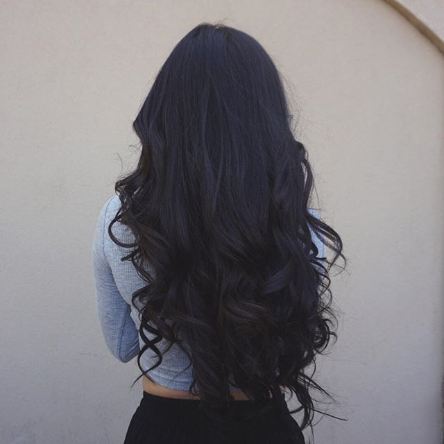 17 best ideas about long black hair on pinterest black