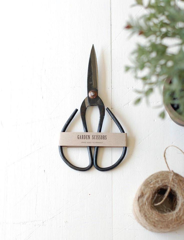 Garden Scissors - Large by FrogGoesToMarket on Etsy https://www.etsy.com/listing/247244035/garden-scissors-large