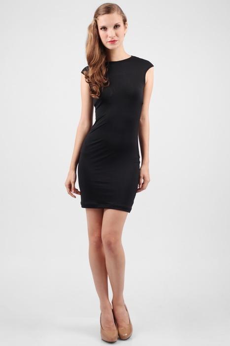 Berrybenka.com - Product Detail :: CleanCut's Rachel CrissCross Back Dress