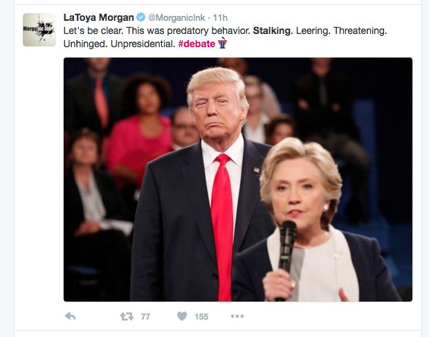 """Is Trump A """"Trigger""""? According To Many Women's Reactions To Last Night's Debate, The Answer Is """"Yes"""""""