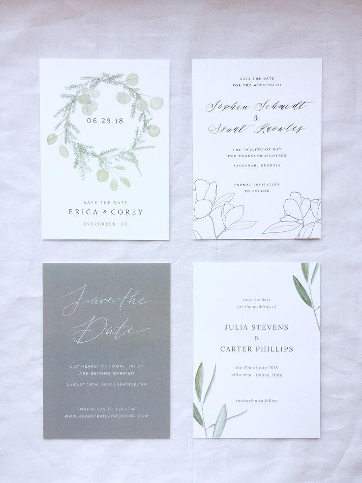 Best 25 Grey wedding invitation suites ideas on Pinterest
