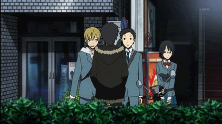 I feel like I must watch Durarara just to see Izaya get hit by appliances.