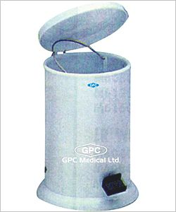 GPC Medical Ltd. - medical waste containers company from India. We are manufacturer, supplier & exporter of medical #wastecontainers. These waste containers constructed from epoxy painted sheet steel with removable inner container with capacity 11lt. &  size 28 x 36cm.