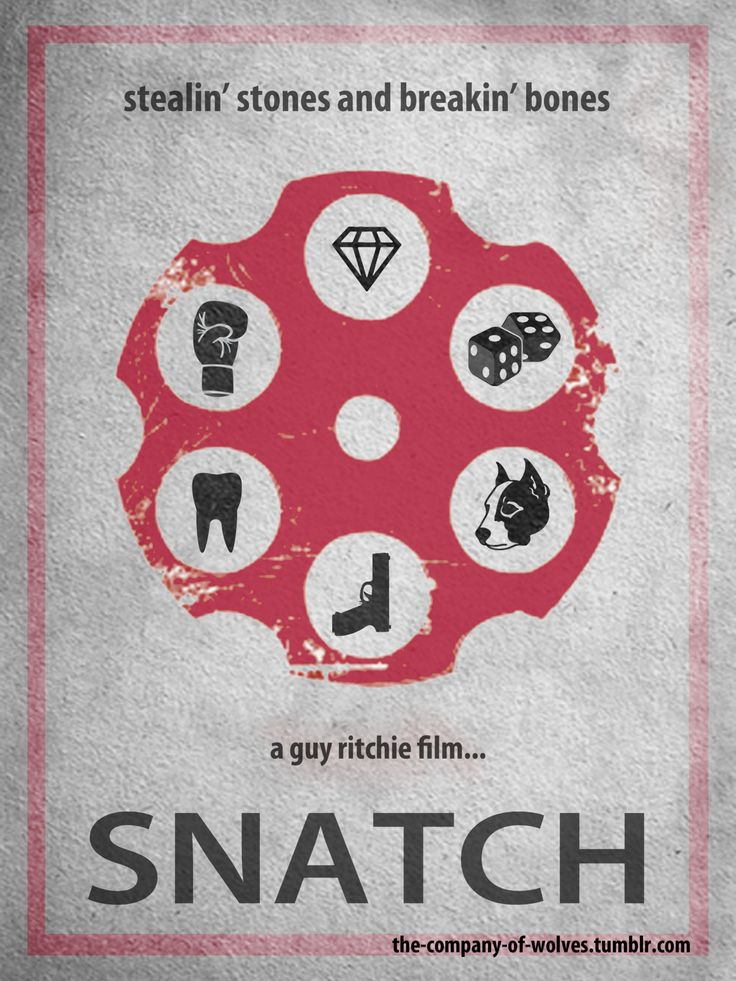 Snatch - movie poster - The Company of Wolves