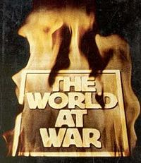 The World at War (1973–74) is a 26-episode British television documentary series chronicling the events of the Second World War. At the time of its completion in 1973 it was the most expensive series ever made, costing £900,000. It was produced by Jeremy Isaacs, narrated by Laurence Olivier and has a score composed by Carl Davis. A book, The World at War, was written by Mark Arnold-Forster to accompany it.