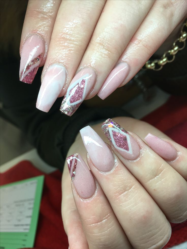 Acrylic nails nail designs