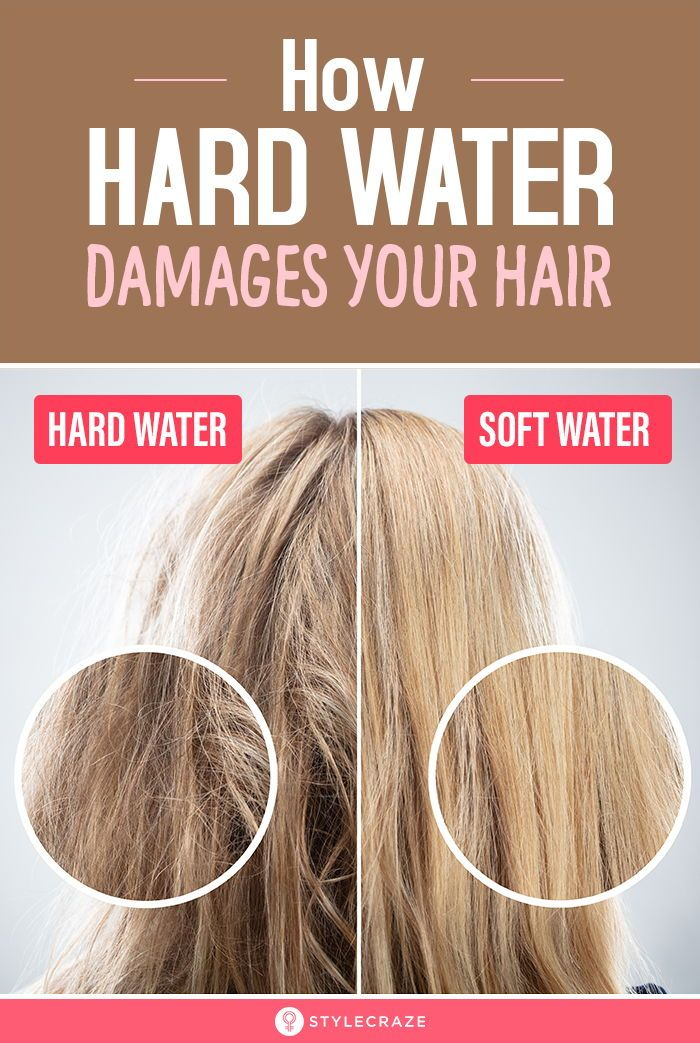 Can Hard Water Cause Hair Loss Preventive Hair Care Tips Hard Water Hair Well Water Hair Hair Keeps Breaking