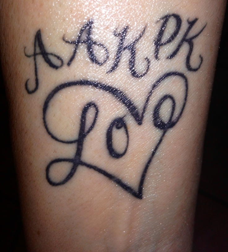 17 Best Ideas About Eternal Love Tattoo On Pinterest