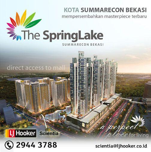 The SpringLake Apartment @ Summarecon Bekasi