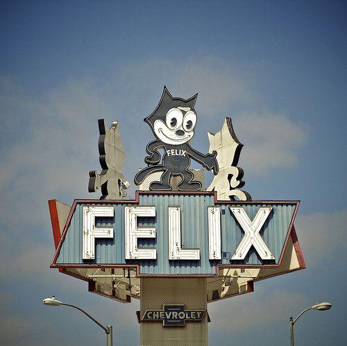 Felix Chevrolet sign
