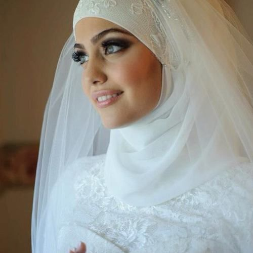 Beautiful Hijabi Bride #hijabi #bridal #islam