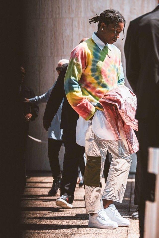 Asap Rocky Attending Paris Fashion Week On Asap Rocky Fashion