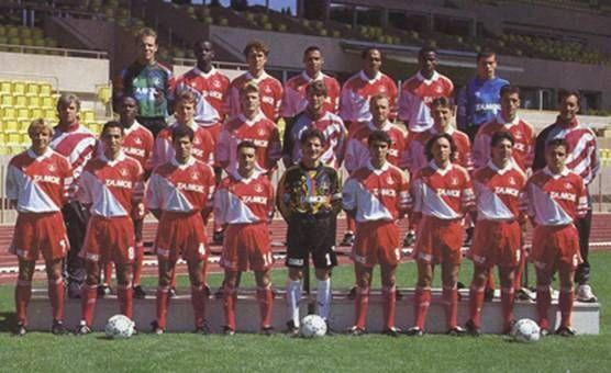 AS MONACO Saison  1993/1994 1/2 COUPE DES CHAMPIONS