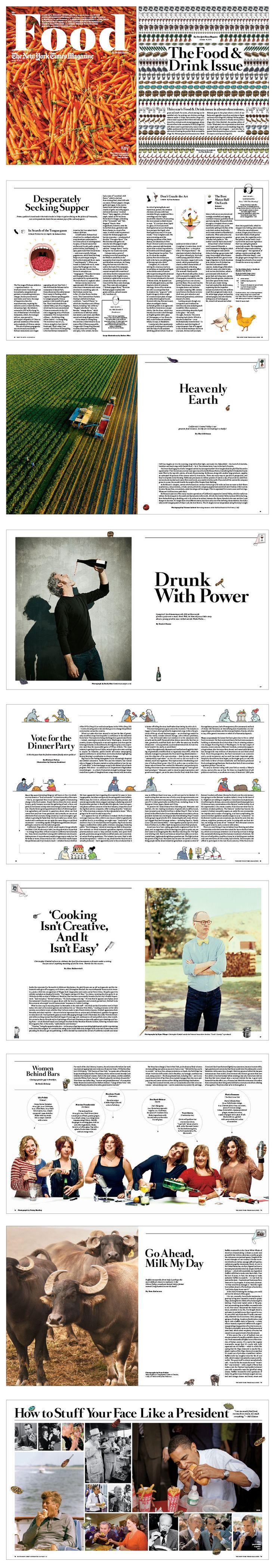NYT Magazine Food Issue : Drea Zlanabitnig