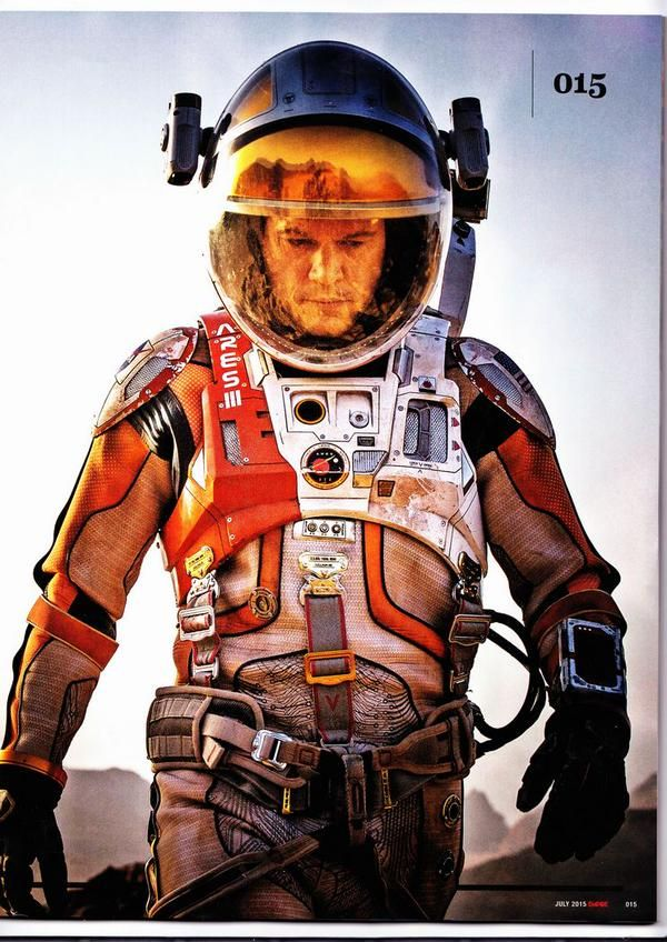 Mark Watney- The Martian by Andy Weir (photo: blogs.indiewire.com)