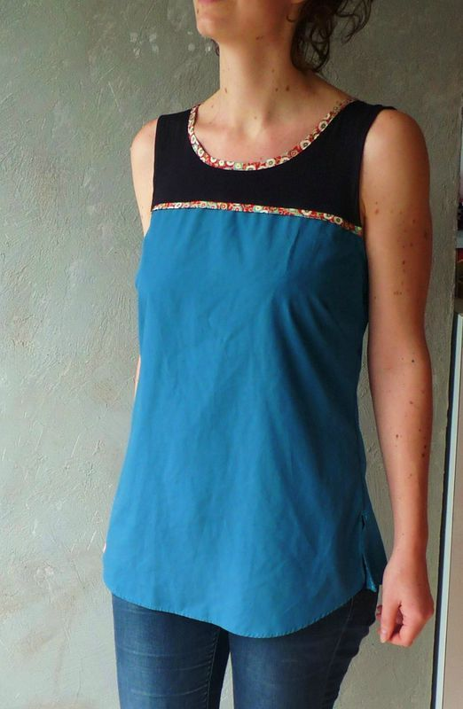 Haut : robe + chemise