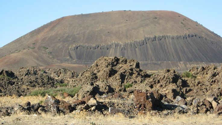 Kula Volcanic Field, The Latest Volcanic Field of Anatolia, Kula Town, Manisa Province, West Anatolia Region, Turkey